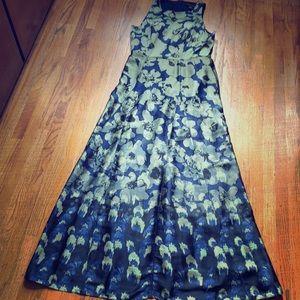 Maxi sleeveless petite dress by Banana Republic